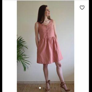 Dresses & Skirts - 100% Linen Dress